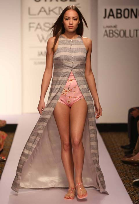 Sailex Ngairangbam At Lakme Fashion Week S R 2015 Fashionfad