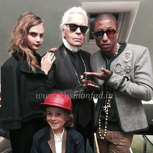 For The Handbag Campaign, Pharrell Will Be Joined By Cara Delevingne, And  Chanel Muses Kristen Stewart And Caroline De Maigret.