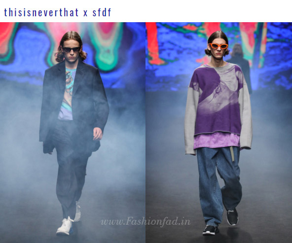 Blindness' genderless show expressed the artistry of Park Ji-sun and Shin  Kyu-yong, featuring maximized creativeness. Male models showcased clothes  that ...