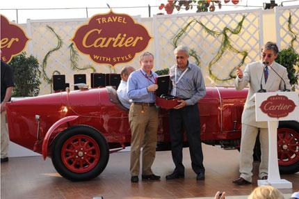 Cartier Vintage Car Exhibit - Fashionfad