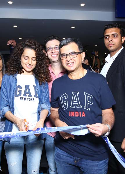1b0c2c43 Themuch awaited American brand GAP marked its foray with the launch of  their flagship store in New Delhi at Select Citywalk mall, with an  exclusive preview ...