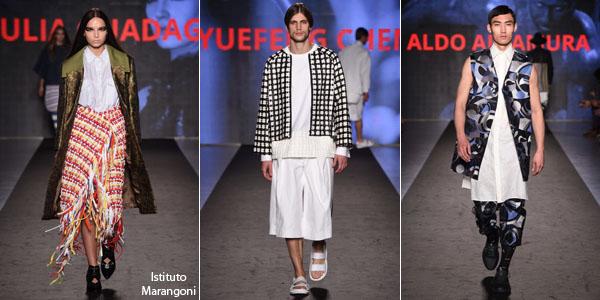 The First Milano Moda Graduate show - Fashionfad 0dab4d70f90