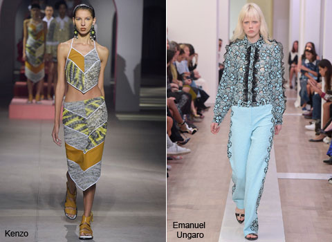 46fdc19a0b1 Céline s spring lineup by Phoebe Philo was chic and captivating. She came  up with various designs like wide trousers