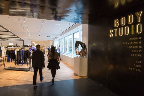 cd9393e75a184 The Body Studio is the first manifestation of the £300m investment  Selfridges has pledged to transform the Eastern side of its London store on  Duke Street.