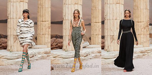 Chanel 2017/18 Cruise, Modernity of Antiquity - Fashionfad