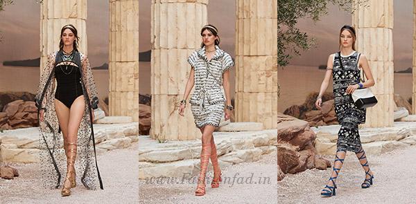 7b322e46522 Antiquity meets modern fashion mythology in draped jersey tops