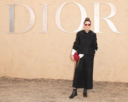 Stars In Dior Cruise 2018 Fashionfad