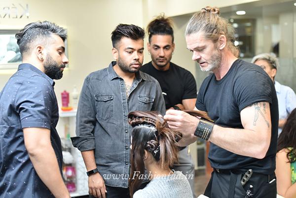 Toniguy Hairdressing Academy With Bill Watson Fashionfad