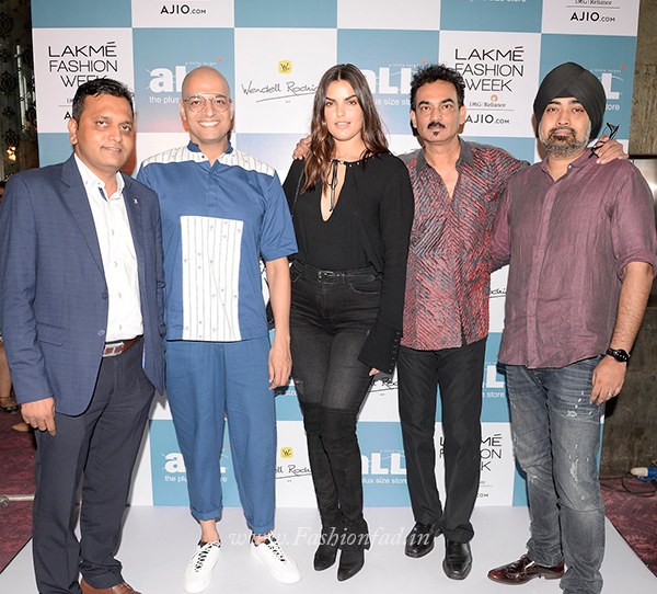 37a176527eb ... Head of Business, aLL– The Plus Size Store – Rajeev Singh, Fashion and  Lifestyle Consultant – NeerajGaba and Vice President and Head of Fashion,  ...