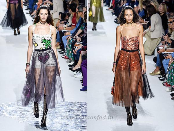 Dior SS18 RTW show, Paris Fashion Week - Fashionfad