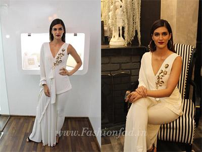 Kriti Sanon In Designer Sonaakshi Raaj Fashionfad