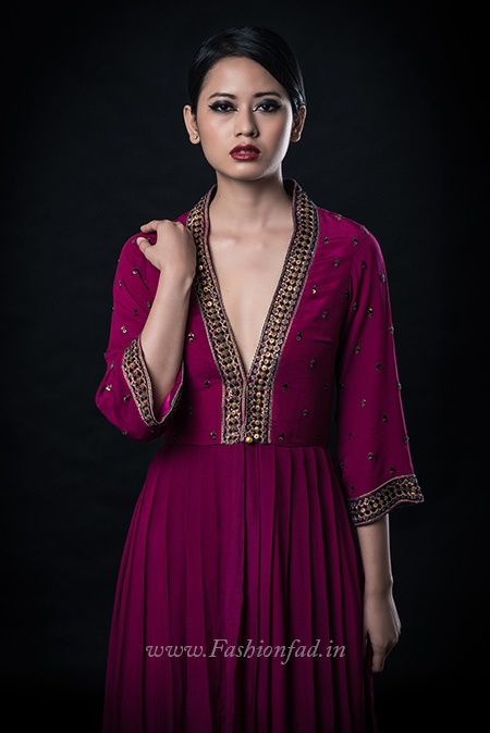 61a87111aa02b ... with strong shades that play a clever juxtaposition of ethereal fabric  and strong silhouettes. Every tastefully tailored piece holds something new