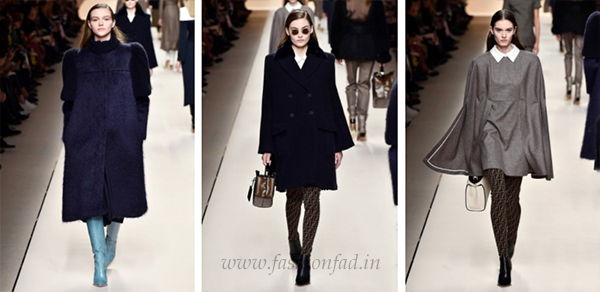 7fb15bef566d9d Trompe l oeil yoke details create delicate hybrids within a single garment.  Tailoring fabrics define the city attitude of slim coats and skirt suits in  ...