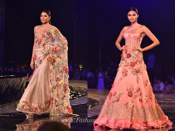f6baa6f9bf Manish Malhotra unveils Summer Couture 2018 - Fashionfad