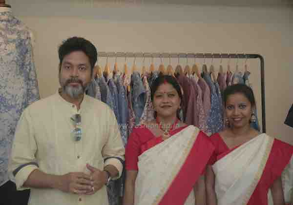 Sustainable fashion label, Usha Silai Previews at Ogaan - Fashionfad