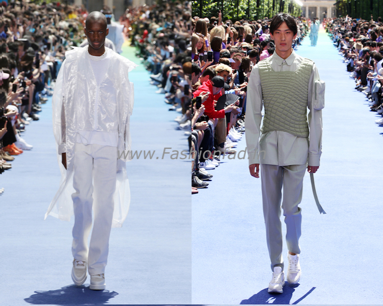 64b0cd9fb6a15 Virgil Abloh first Men s collection for Louis Vuitton - Fashionfad