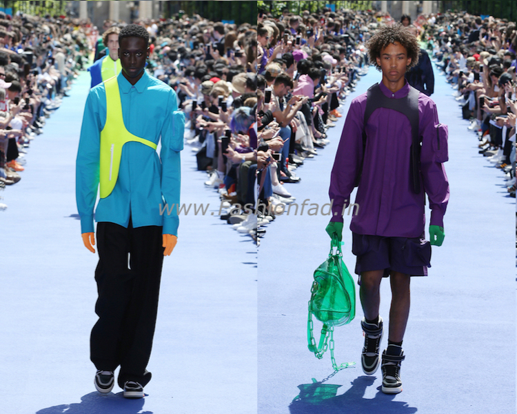 cd8584fae9d5 Virgil Abloh first Men s collection for Louis Vuitton - Fashionfad
