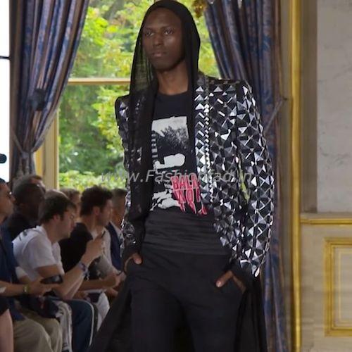 d9d8afd295b Balmain SS19 Men s at Paris Fashion Week - Fashionfad