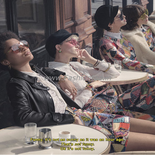 d9a98e4b40df4 Dior s eyewear becomes the new  must have  of the season. For the winter  2018 collection