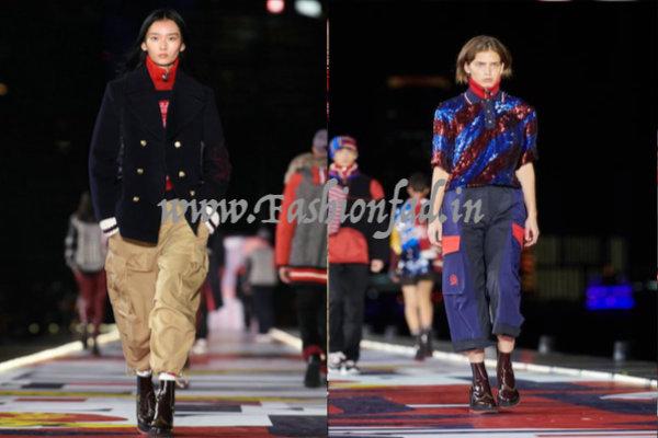 2a928d5d04847 Hailey Baldwin Opens Tommy Hilfiger Show in Shanghai - Fashionfad