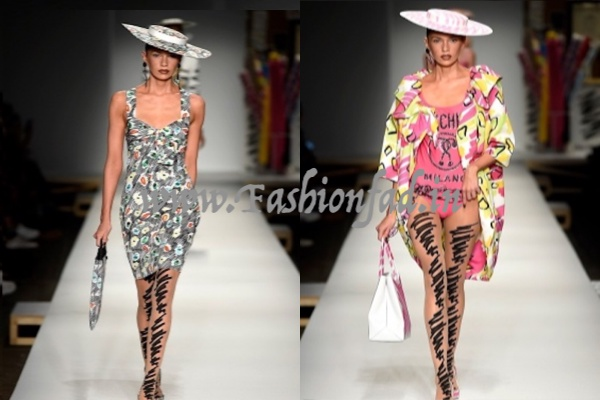 99bc713cde The Moschino designer was seemingly frantic as the show was about to start  and all he had was his sketches.