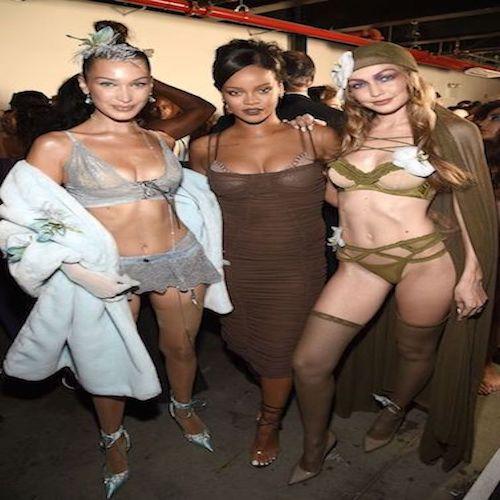 8aad09363 Rihanna Savage X Fenty lingerie Show  NYFW SS19 - Fashionfad