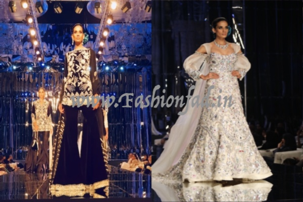 256e05bd55f21 The show was a dreamy mosaic of the signature Manish Malhotra style with  grandiose