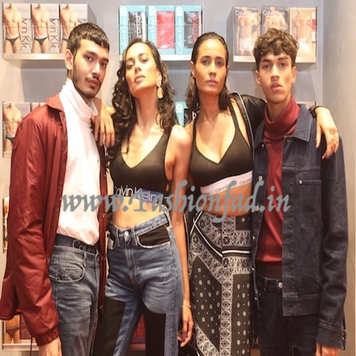 Calvin Klein Celebrates the Opening of Its New Underwear Store