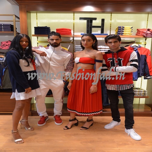 1ab00c92e3b457 Tommy Hilfiger Celebrates First Exclusive Store Opening - Fashionfad