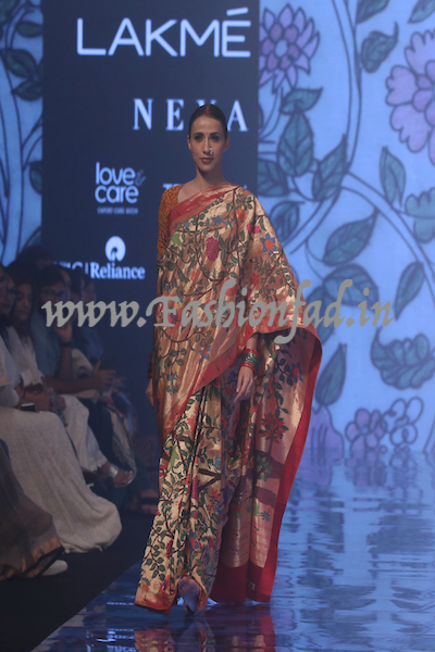 Gaurang Shah Show At Lakme Fashion Week Wf 2019 Fashionfad