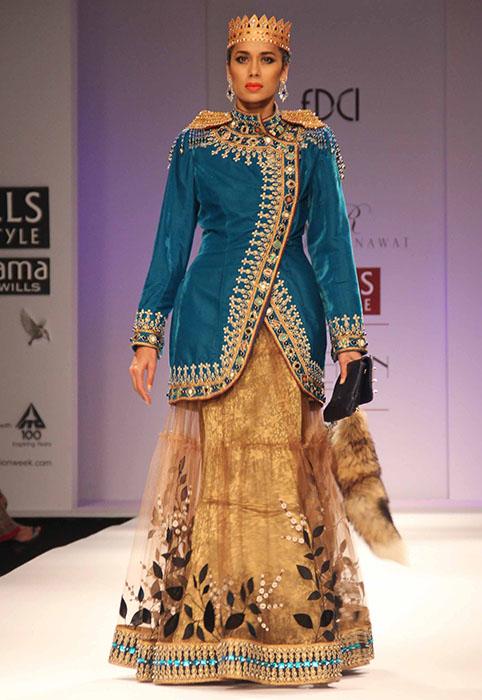 Rajdeep Ranawat at Wills Lifestyle Indian Fashion Week AW13