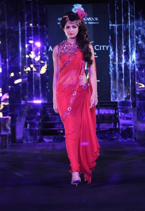 Anjali Arjun Kapoor at Aamby Valley India Bridal Week 2011