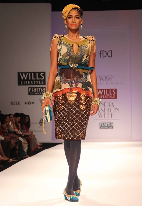 Rajdeep Fashionfad Week Wills At Lifestyle Aw13 Ranawat Indian Fashion T13lKJcuF