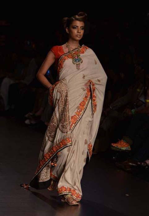 Vikram Phadnis At Lakme Fashion Week Sr 2013 Fashionfad